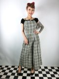 ☆Collectif☆Sam Checked Jumpsuit 9号