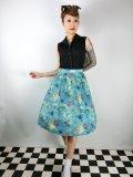 ☆Lindy Bop☆Pryia Green SeaHorse Friends Print Swing Skirt 9号