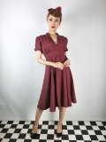 ☆Heart of Haute☆Manhattan Dress -Burgundy (XXL)17号