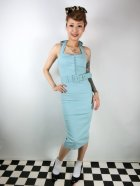 他の写真1: ☆Collectif☆WANDA PLAIN PENCIL DRESS Light Green 7号