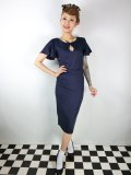 ☆Collectif☆SELMA PENCIL DRESS Navy 9号