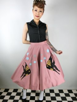画像3: Tropical Fish・サーキュラースカート Pink (11号)