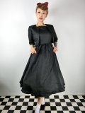 ☆Lindy Bop☆Tiana Black Swing Dress and Jacket Twin Set 15号