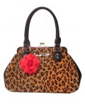 BLACK DAHLIA KISS LOCK BROWN LEOPARD