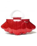 MERMAID MINI TOTE VENOM RED SPARKLE