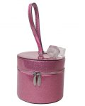 MINI TAYLOR HAT BOX PINK BUBBLY SPARKLE