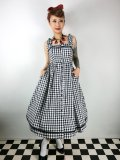 ☆Collectif Vintage☆ Annabel Gingham Flared Dress 7号