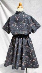 他の写真2: BraniffFabric Black KIDSサーキュラースカート  100サイズ