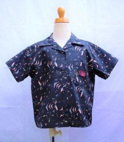 画像1: BraniffFabric Black KIDSシャツ 120サイズ