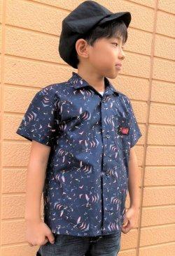 画像5: BraniffFabric Black KIDSシャツ 120サイズ
