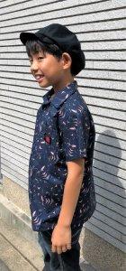 他の写真2: BraniffFabric Black KIDSシャツ 120サイズ