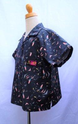 画像2: BraniffFabric Black KIDSシャツ 120サイズ