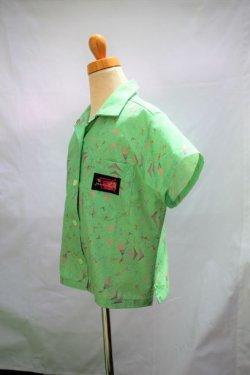 画像2: BraniffFabric Green KIDSシャツ 130サイズ
