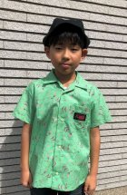 他の写真1: BraniffFabric Green KIDSシャツ 130サイズ
