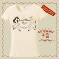 "SWEETMEAT SHOW  ""Sweetmeat show Twins"" T-shirt Natural XLサイズ"