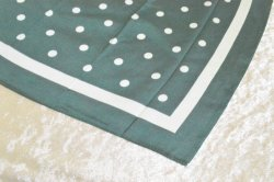 画像4: ☆Collectif☆POLKA HEADSCARF Moss Green