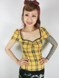 ☆Collectif☆MIMI CLUELESS CHECK TOP 7号