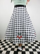 他の写真3: ☆Collectif☆CHERRY VINTAGE GINGHAM SWING SKIRT 17号
