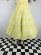 他の写真1: ☆Collectif Vintage☆MATILDE SUN CHECK SWING SKIRT Yellow 15号