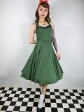 ☆Collectif☆BETH FRINGE DOLL DRESS Green 7号