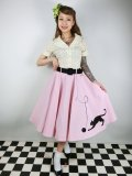 ☆Collectif☆KITTY CAT SWING SKIRT Pink 15号