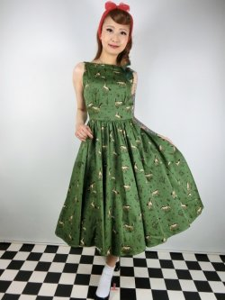 画像1: ☆Collectif☆NIA WILD WEST SWING DRESS 13号