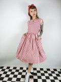 ☆Collectif☆CANDICE STRIPED SWING DRESS 9号
