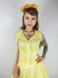 ☆Collectif Vintage☆ HILLARY SUN CHECK TOP 17号