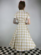 他の写真3: ☆Collectif Vintage☆CATERINA 50S GINGHAM SWING DRESS Mustard 17号