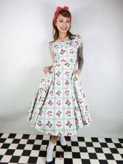 画像1: ☆Collectif☆DOLORES SWEETHEART PICNIC DOLL DRESS 17号