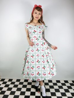 画像2: ☆Collectif☆DOLORES SWEETHEART PICNIC DOLL DRESS 17号