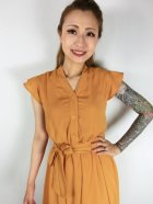 他の写真2: ☆Lindy Bop☆Kody Mustard Tea Dress 9号