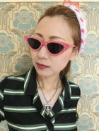 他の写真2: ☆Collectif☆LUCILLE CATEYE SUNGLASSES Red
