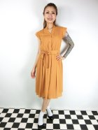 他の写真1: ☆Lindy Bop☆Kody Mustard Tea Dress 15号