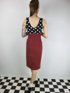 他の写真3: ☆Lucky13☆JAYNE Wiggle Dress-RED/BLACK(M)11号