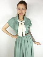 他の写真2: ☆Lindy Bop☆Tally Mae Sage Green Swing Dress 17号