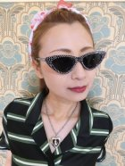 他の写真3: ☆Collectif☆LUCILLE CATEYE SUNGLASSES Black