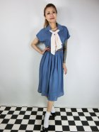 他の写真1: ☆Lindy Bop☆Tally Mae Soft Blue Swing Dress 13号