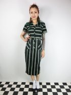他の写真1: ☆Collectif☆ CATERINA WITCH STRIPES PENCIL DRESS 15号