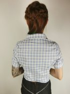 他の写真3: ☆Collectif☆SAMMY VINTAGE GINGHAM TIE BLOUSE 7号