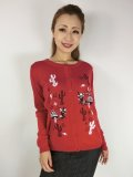 ☆Lucky13☆LOS BURRITOS Cardigan-RED(M)11号