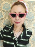 他の写真1: ☆Collectif☆LUCILLE CATEYE SUNGLASSES Red