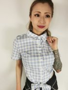 他の写真1: ☆Collectif☆SAMMY VINTAGE GINGHAM TIE BLOUSE 7号