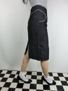他の写真2: ☆Lucky13☆SUGAR SHACK Denim Slub Pencil Skirt-BLACK(L)15号
