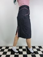 他の写真2: ☆Lucky13☆SUGAR SHACK Denim Slub Pencil Skirt-INDIGO(XL)17号