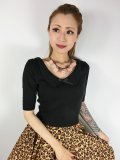 ☆Collectif☆BABETTE JUMPER Black 7号