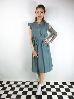 画像2: ☆Lindy Bop☆Kody Sage Green Tea Dress 13号