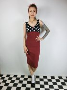 他の写真1: ☆Lucky13☆JAYNE Wiggle Dress-RED/BLACK(M)11号