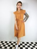 ☆Lindy Bop☆Kody Mustard Tea Dress 17号