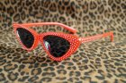 他の写真3: ☆Collectif☆LUCILLE CATEYE SUNGLASSES Red